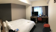 My hotel room, spacious with all amenties