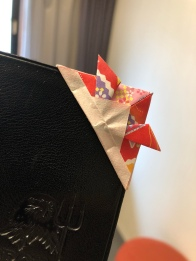 Even there's a small ornament on my passport after checking-in