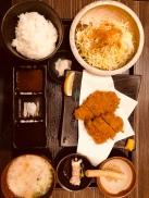 "One of the must eat over here, Kurobuta ""Black Pork"""