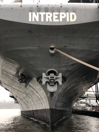 Bow view of Intrepid