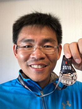 Finished my 8th marathon and first time does marathon within 6 months period.