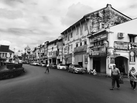 Street view of Kuching